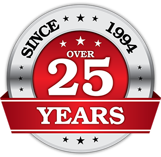 GW Systems - Over 25 Years Excellence In Service Emblem